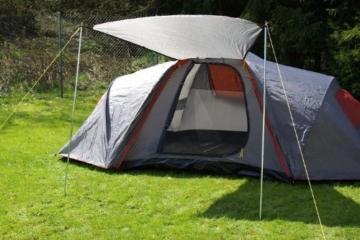 Nexos Automatik Zelt für 6 Personen Familienzelt 1500mm WS